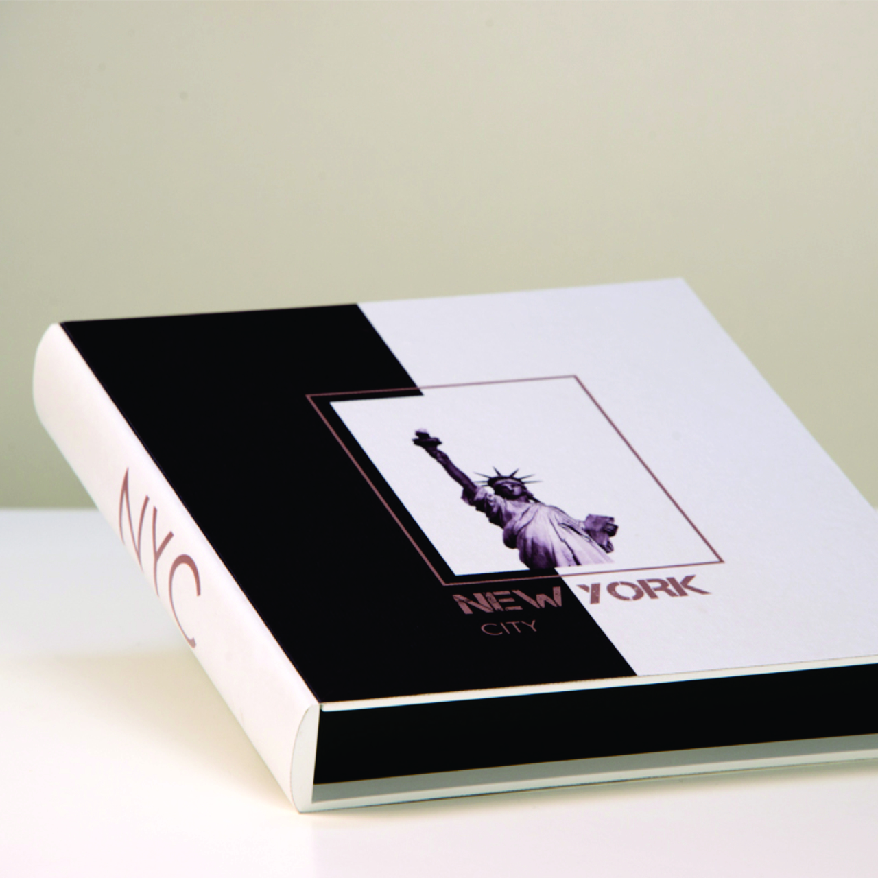Livro Caixa Decor Modelo New York