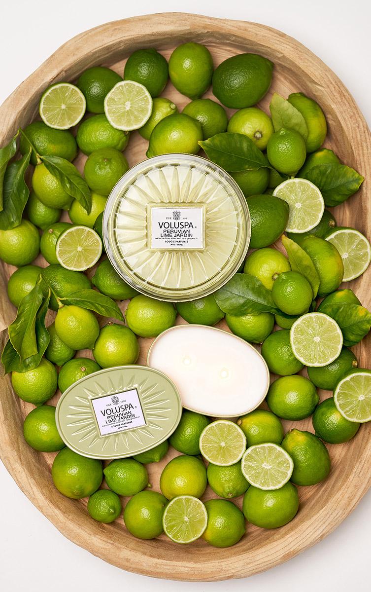 Nova fragrância Peruvian Lime Jardin da Voluspa