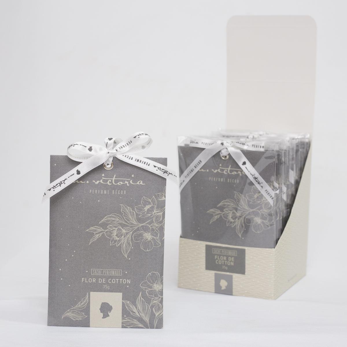 Caixa com 10 unidades de Sachê Perfumado 35g