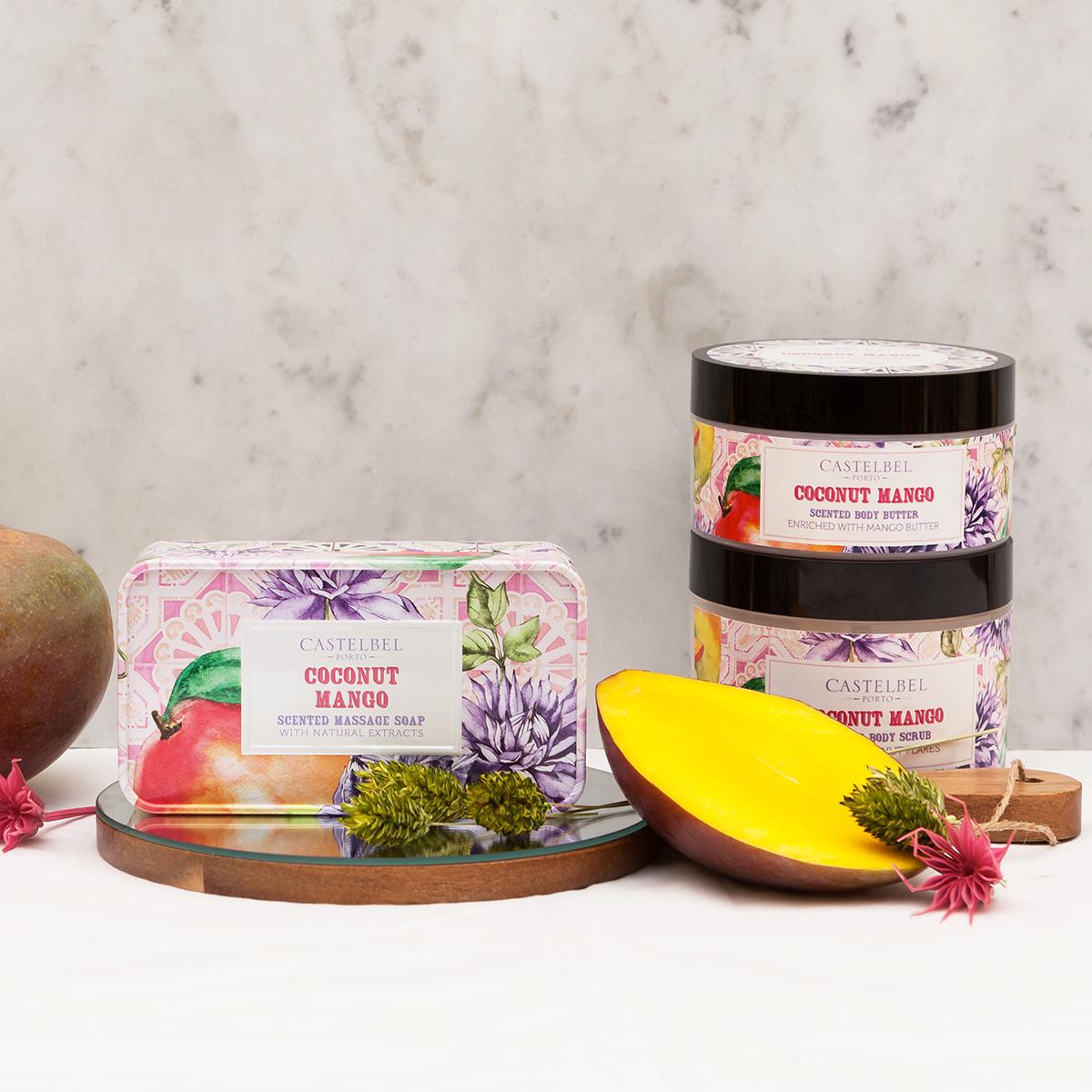 Coconut Mango - Coleção Smoothie - Castelbel Porto