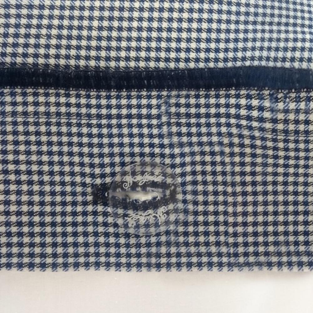 Detalhe Capa para Duvet Urban Blue Vichy