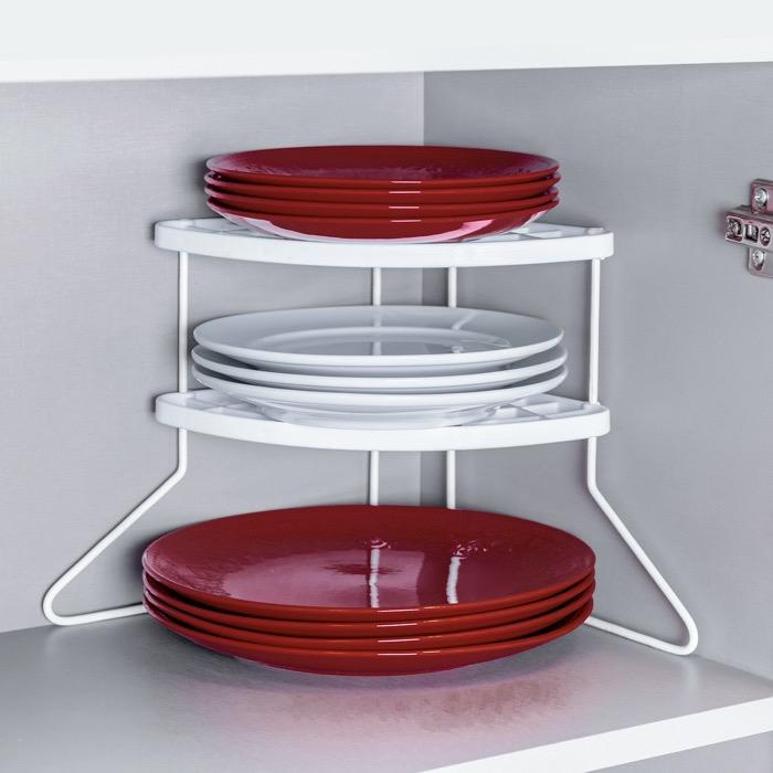 Rack de canto para prato