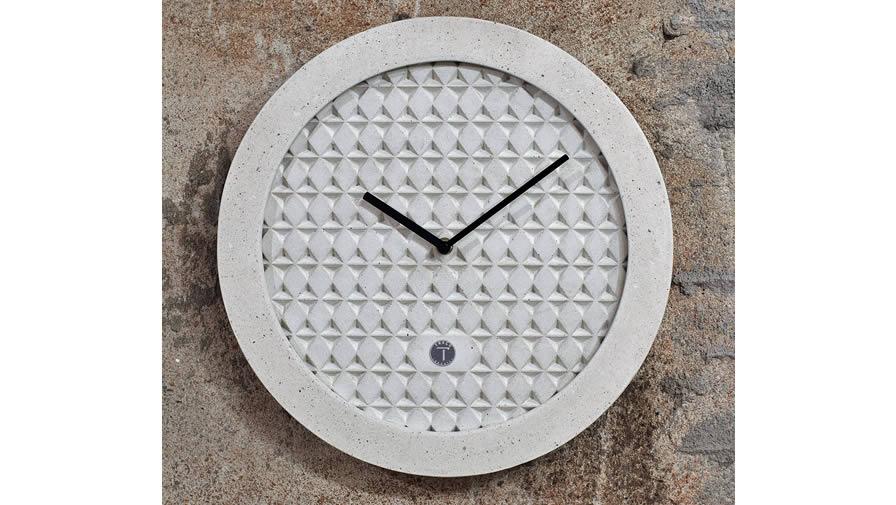 Relógio Ápices Branco + Ponteiros preto (disponível em 6 cores)