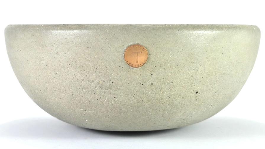 Bowl Para:Bola Cinza Claro (disponível em 6 cores)