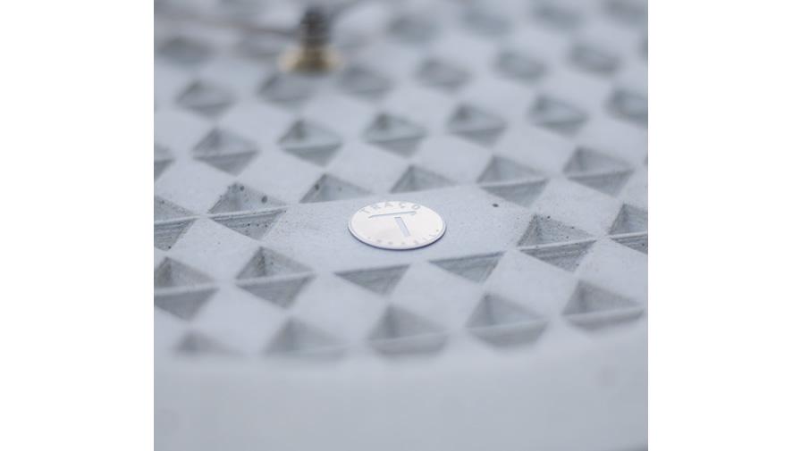 Relógio Ápices Cinza Claro+ Ponteiros prata (disponível em 6 cores)