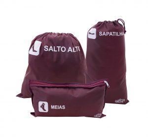 _471041 KIT P: MEIAS, SAPATILHA E SALTO ALTO - VINHO