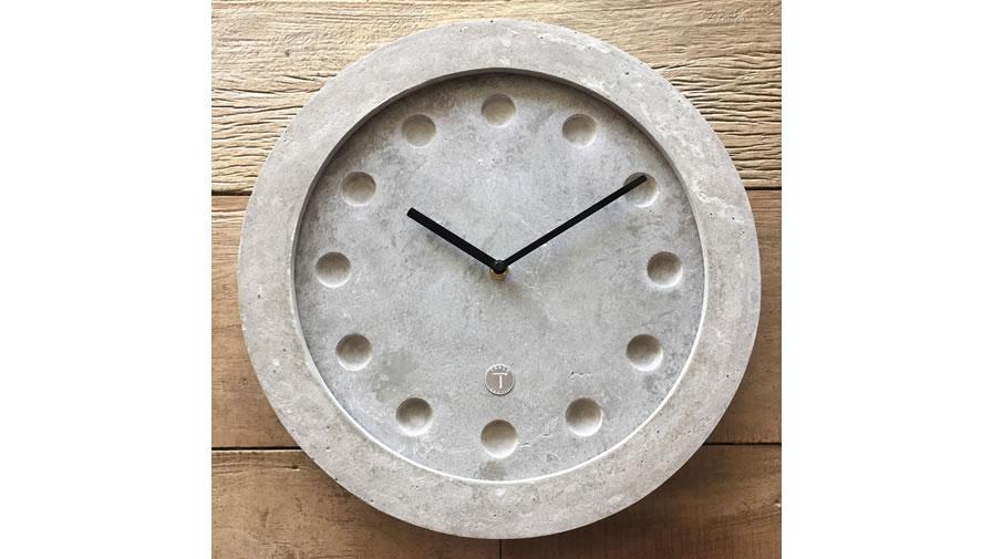 Relógio Equinócios Cinza Claro + Ponteiros preto (disponível em 6 cores)
