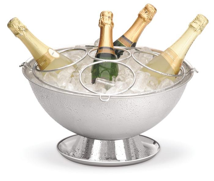 Champagneira Perlage com Base Coletora e Grelha