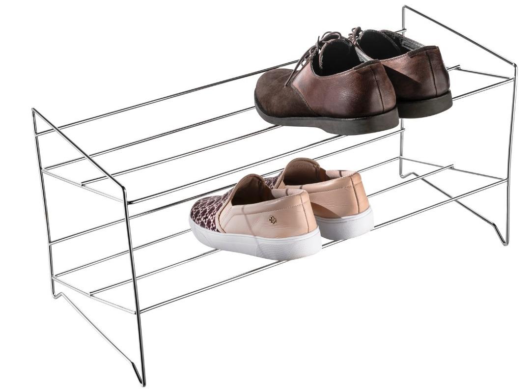Sapateira Cromada para 6 pares de Calçados