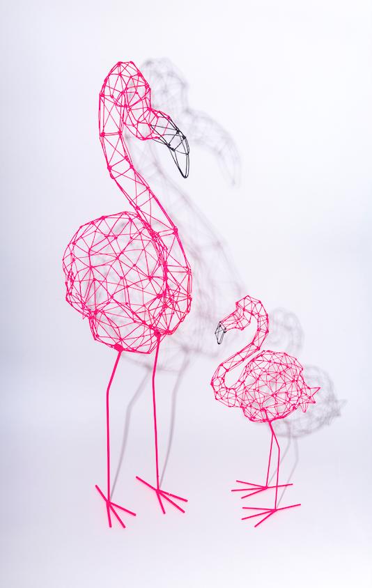 Flamingo Origami