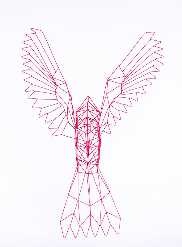 Beija-Flor origami 2