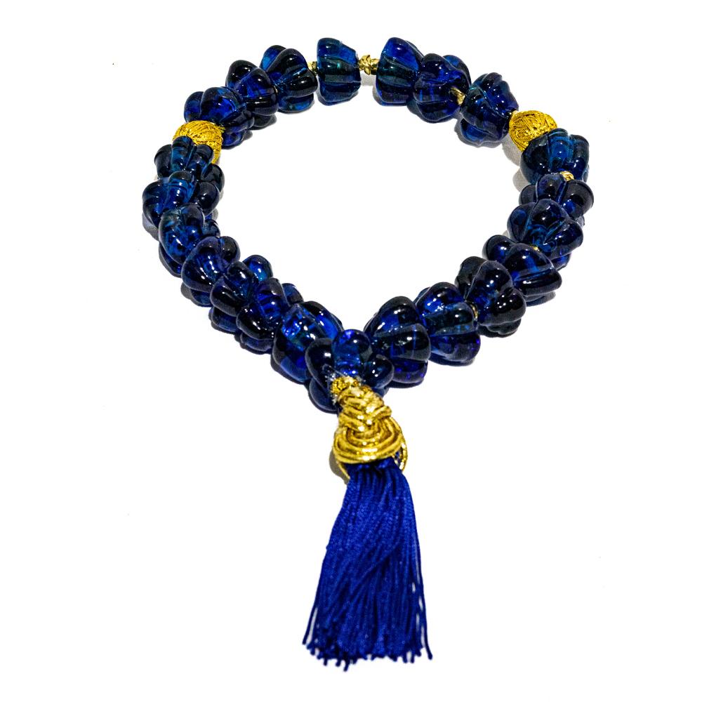Colar-de-murano-azulão-modelo-clássico-médio-