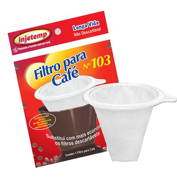 FILTRO LONGA VIDA P/CAFE TAM.103