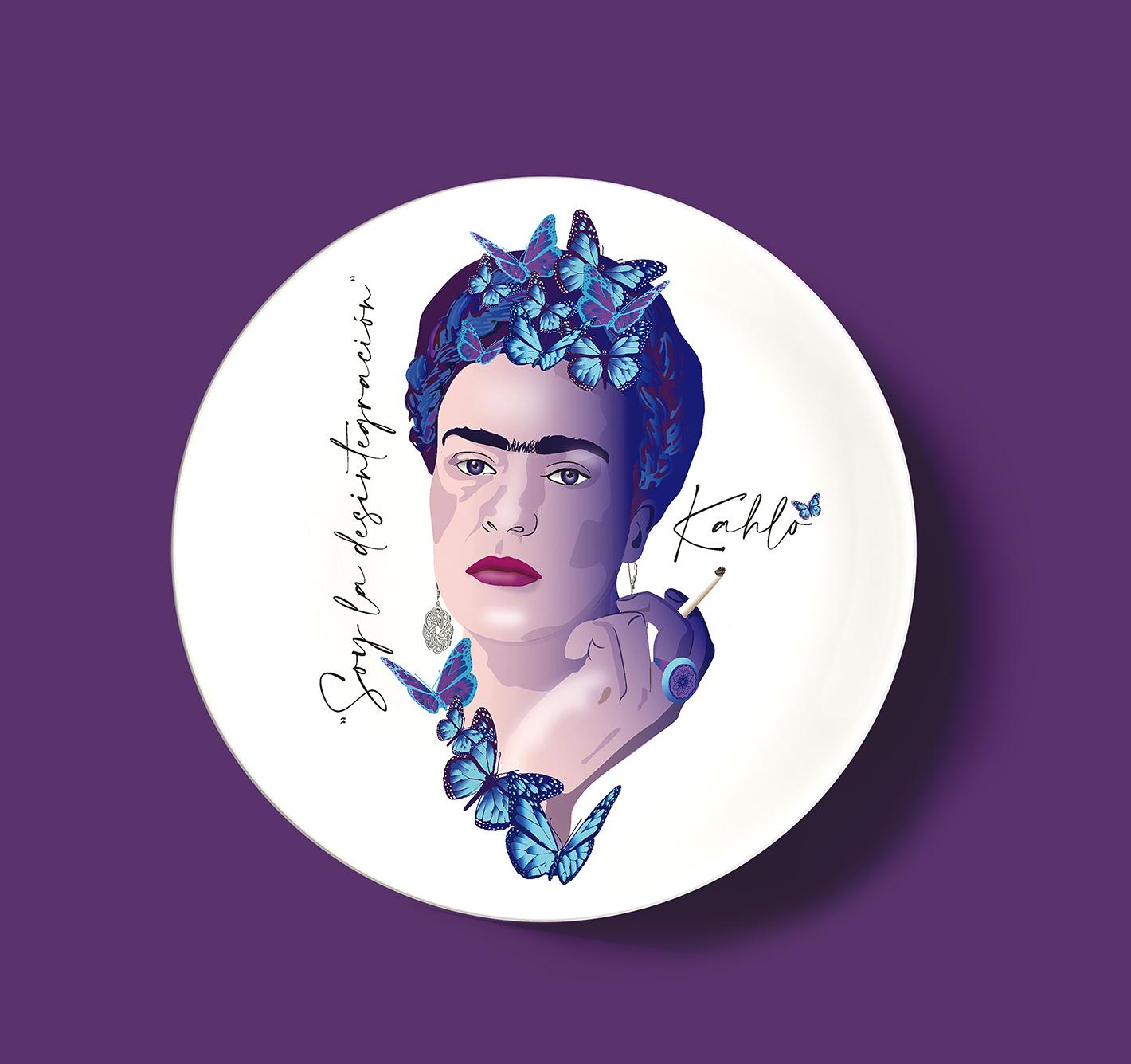 Prato decorativo Frida