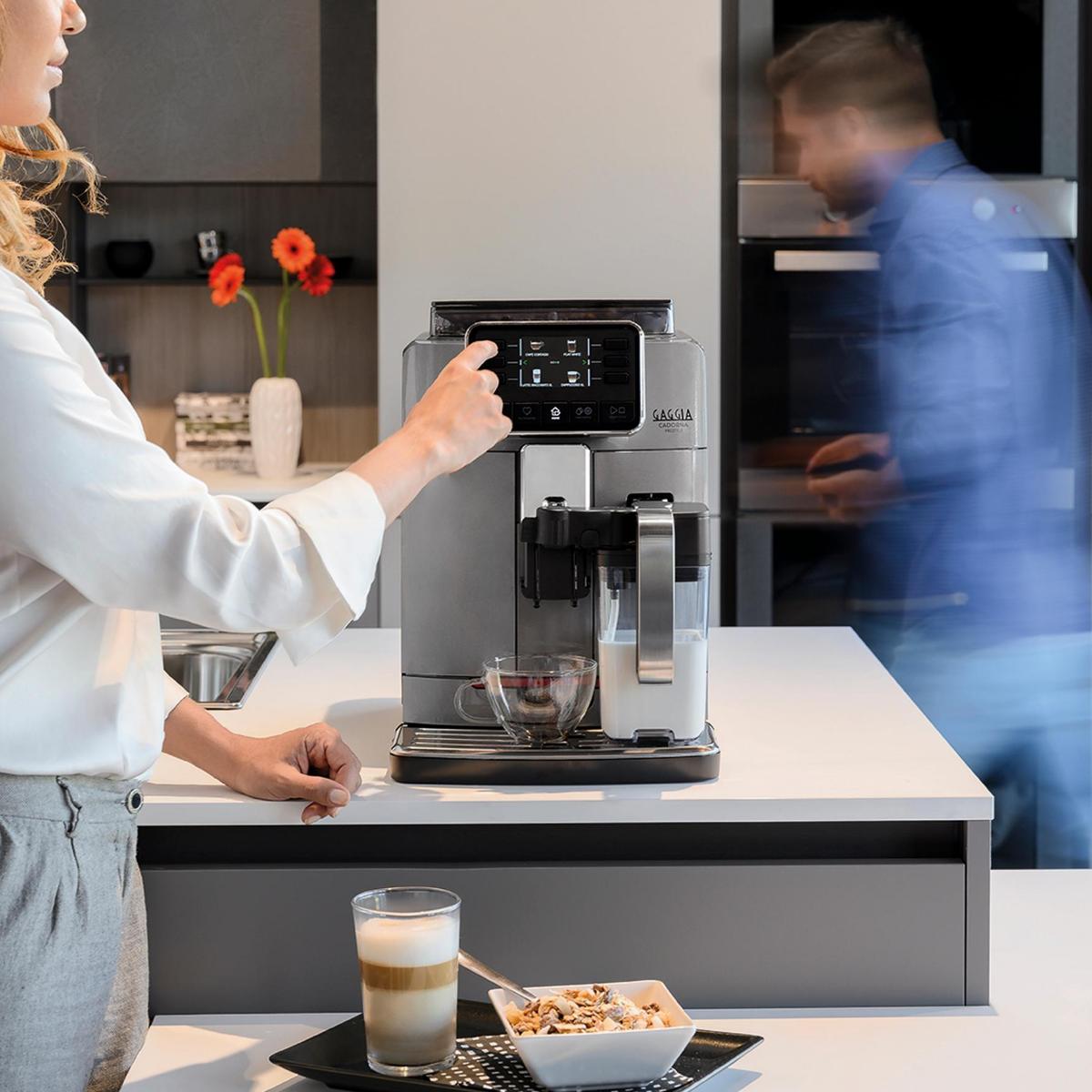 Alta personalização e liberdade de escolha: 4 perfis de usuário diferentes para personalizar e memorizar todas as bebidas disponíveis de acordo com as preferências individuais.