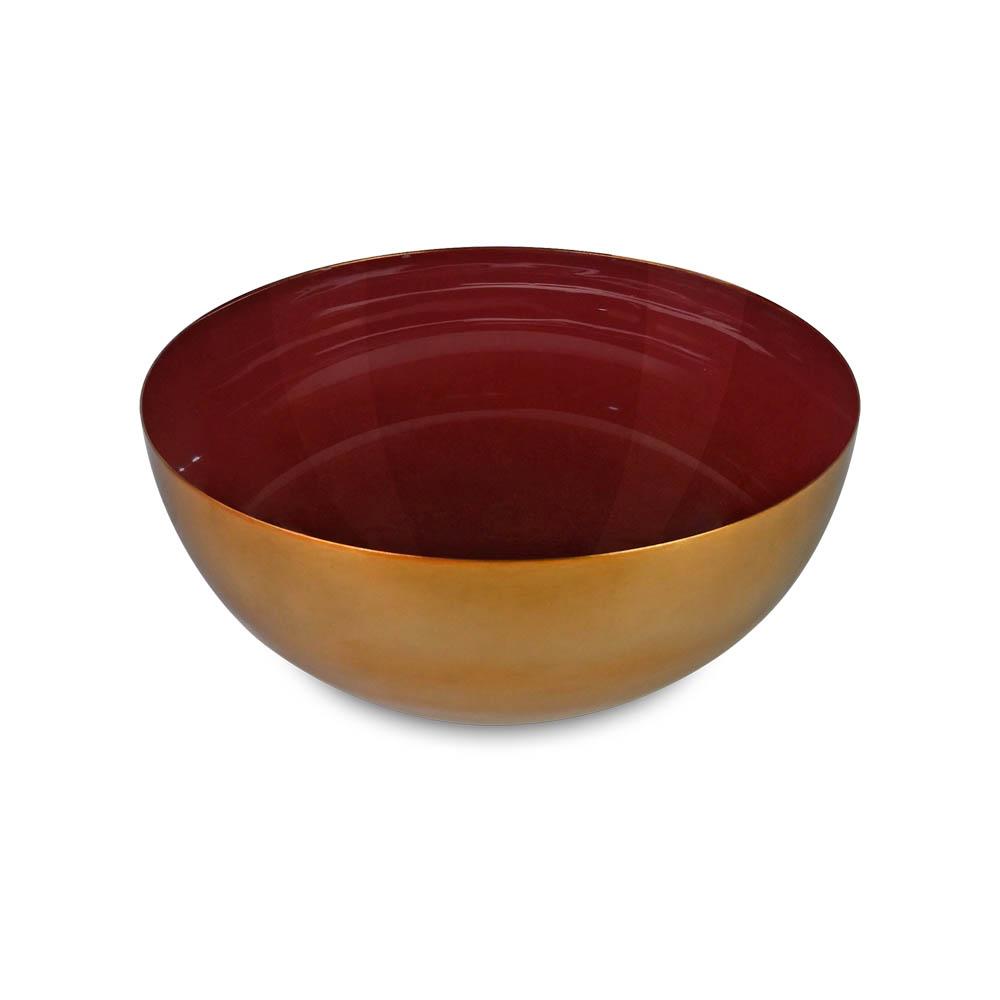 Bowl Decorativo em Metal Esmaltado Ethan I