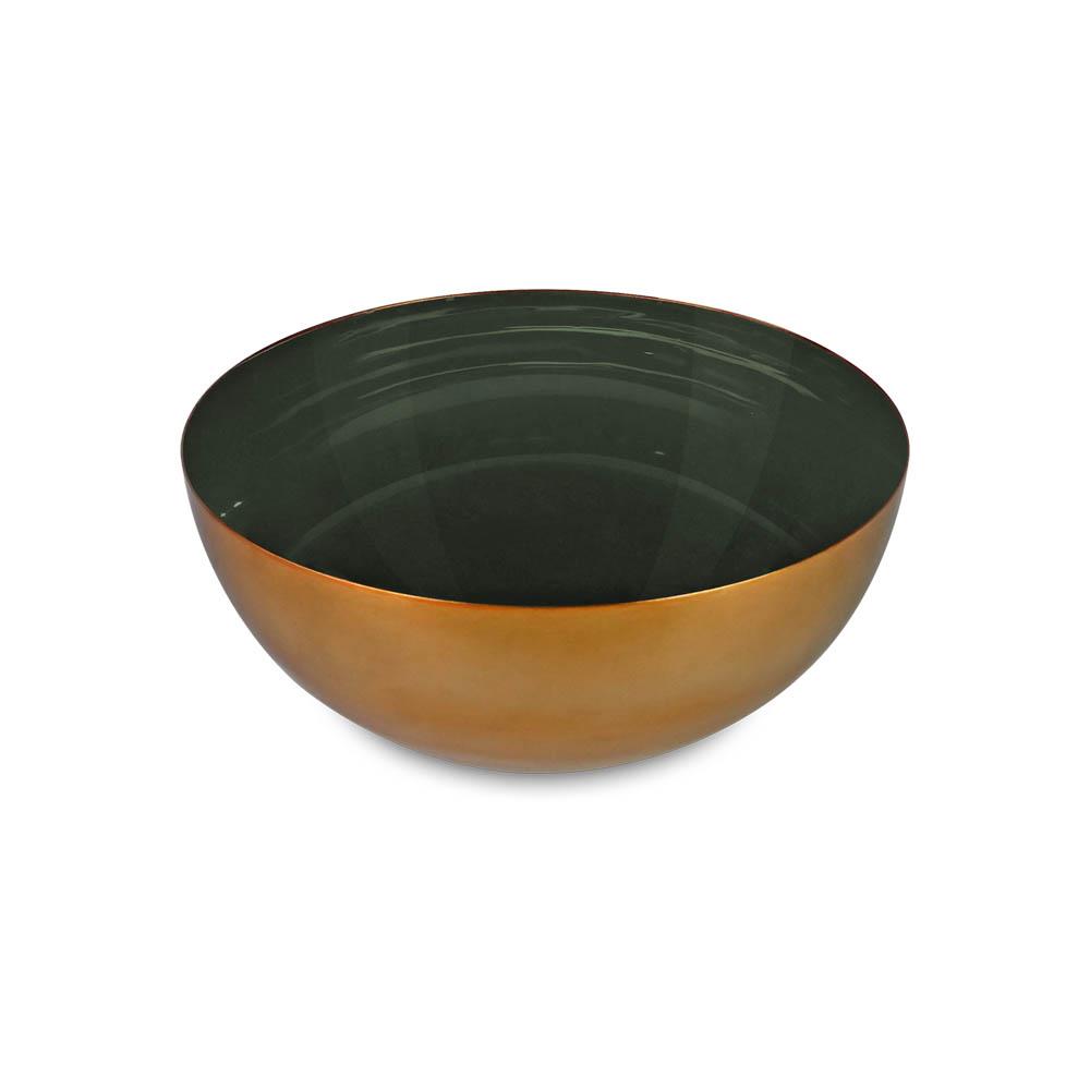 Bowl Decorativo em Metal Esmaltado Ethan II