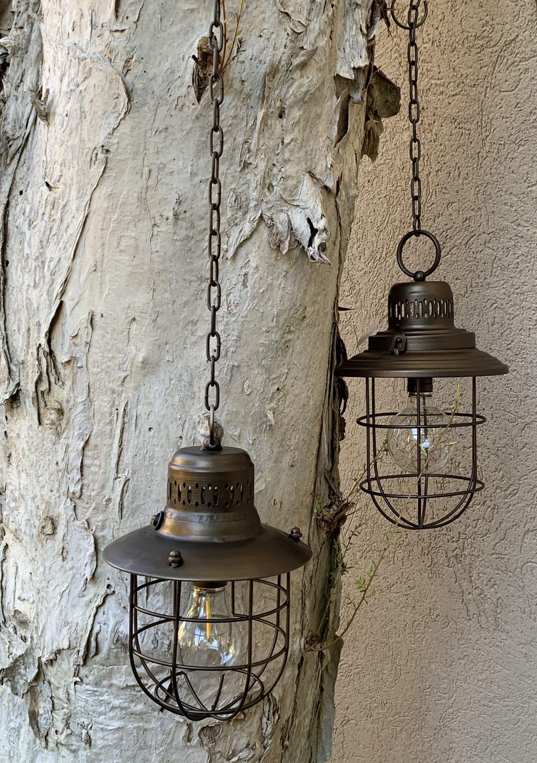 Luminárias em Metal com estilo Industrial
