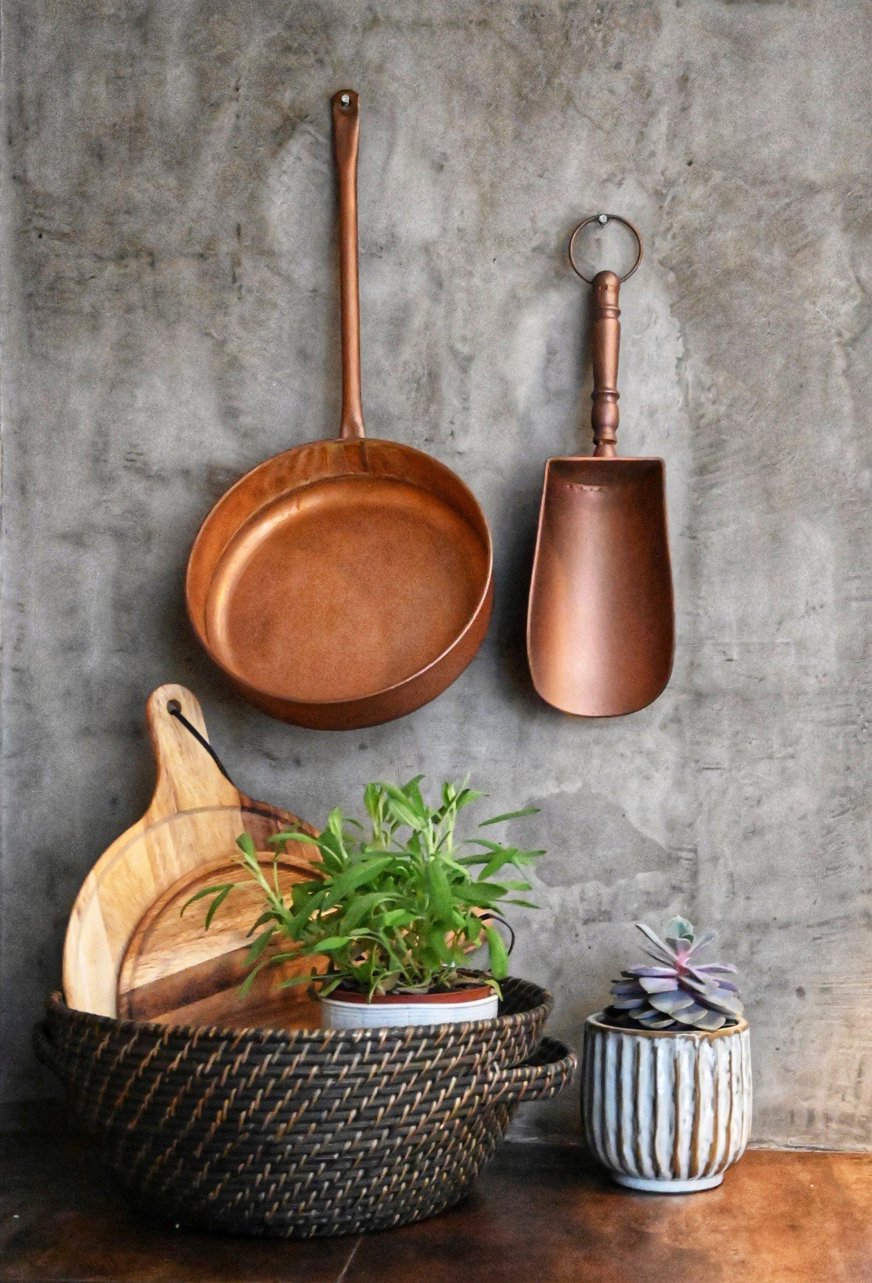 Objetos Decorativos Metal e Madeira
