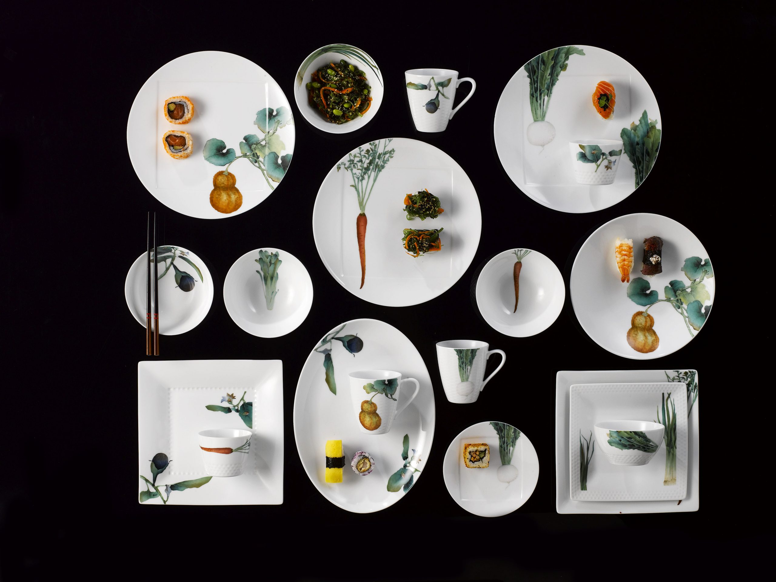 Noritake Porcelanas, modelo Kyoka