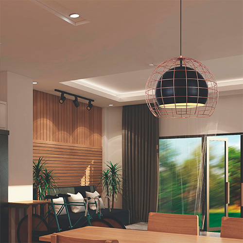 Pendente aramado Adely Lighting