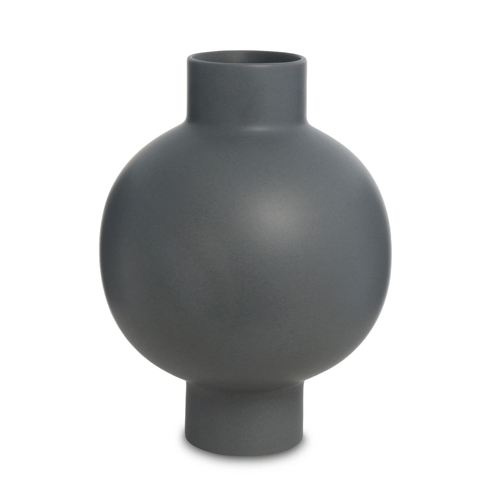 Vasos em Cerâmica Fosca Hanko Preto