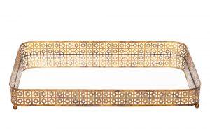 TH241-D Bandeja retangular Alexia 75x45,5x9,5 cm