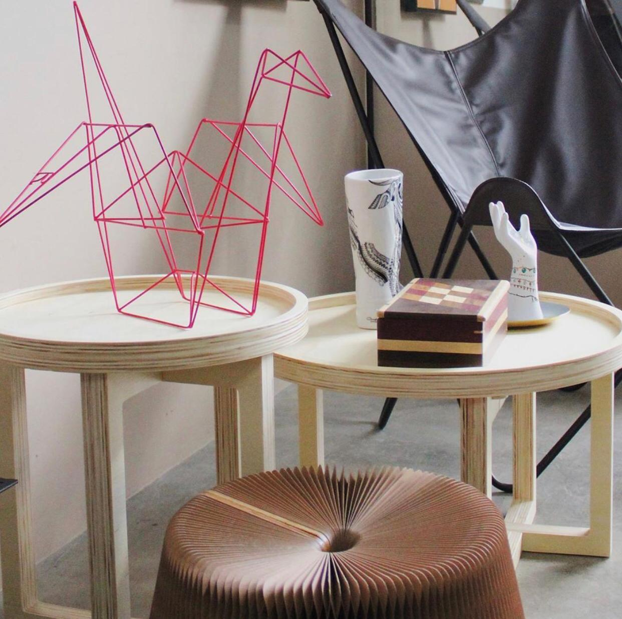 Tsuru origami Interior design