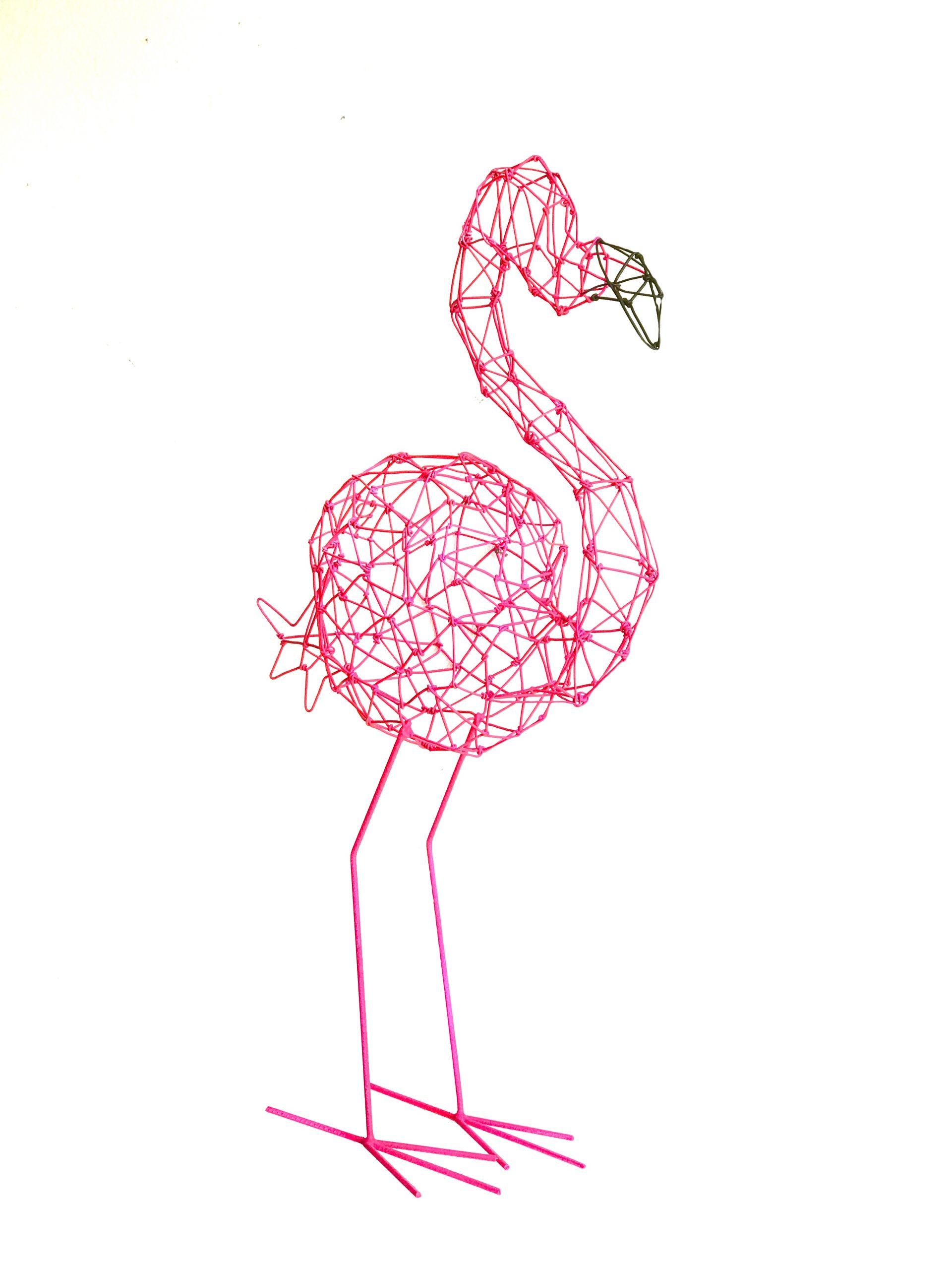Flamingo Origami Pequeno