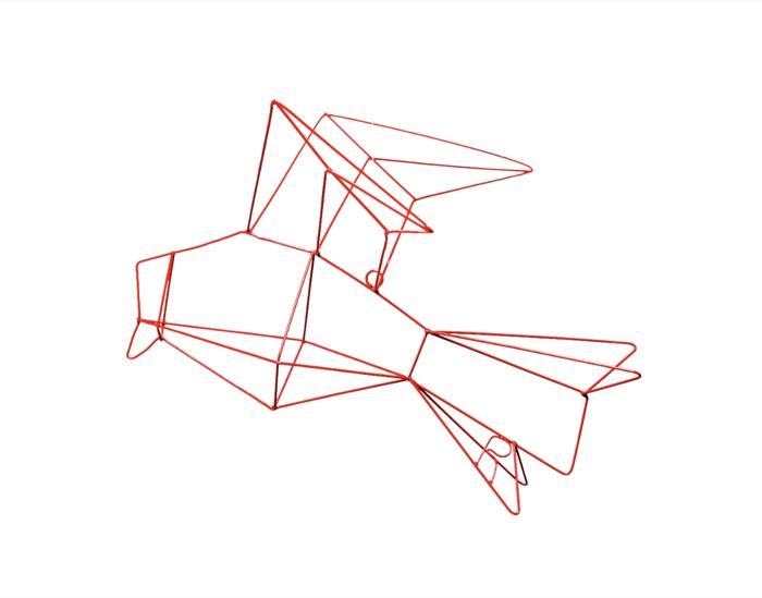 Gaivota Origami 1