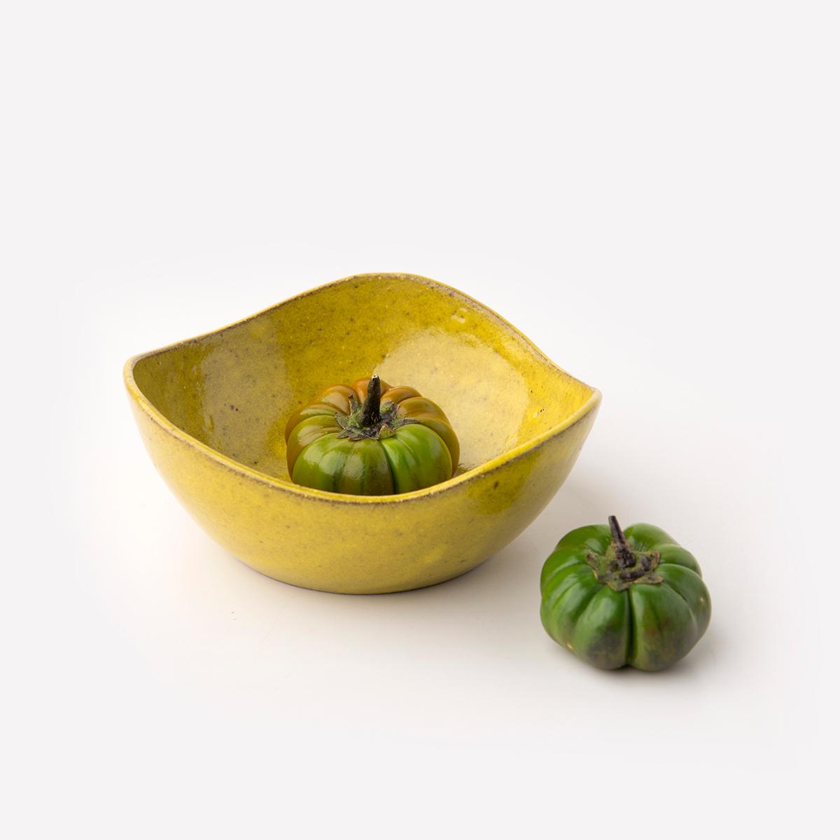 Bowl Onda - Cor: Amarelo