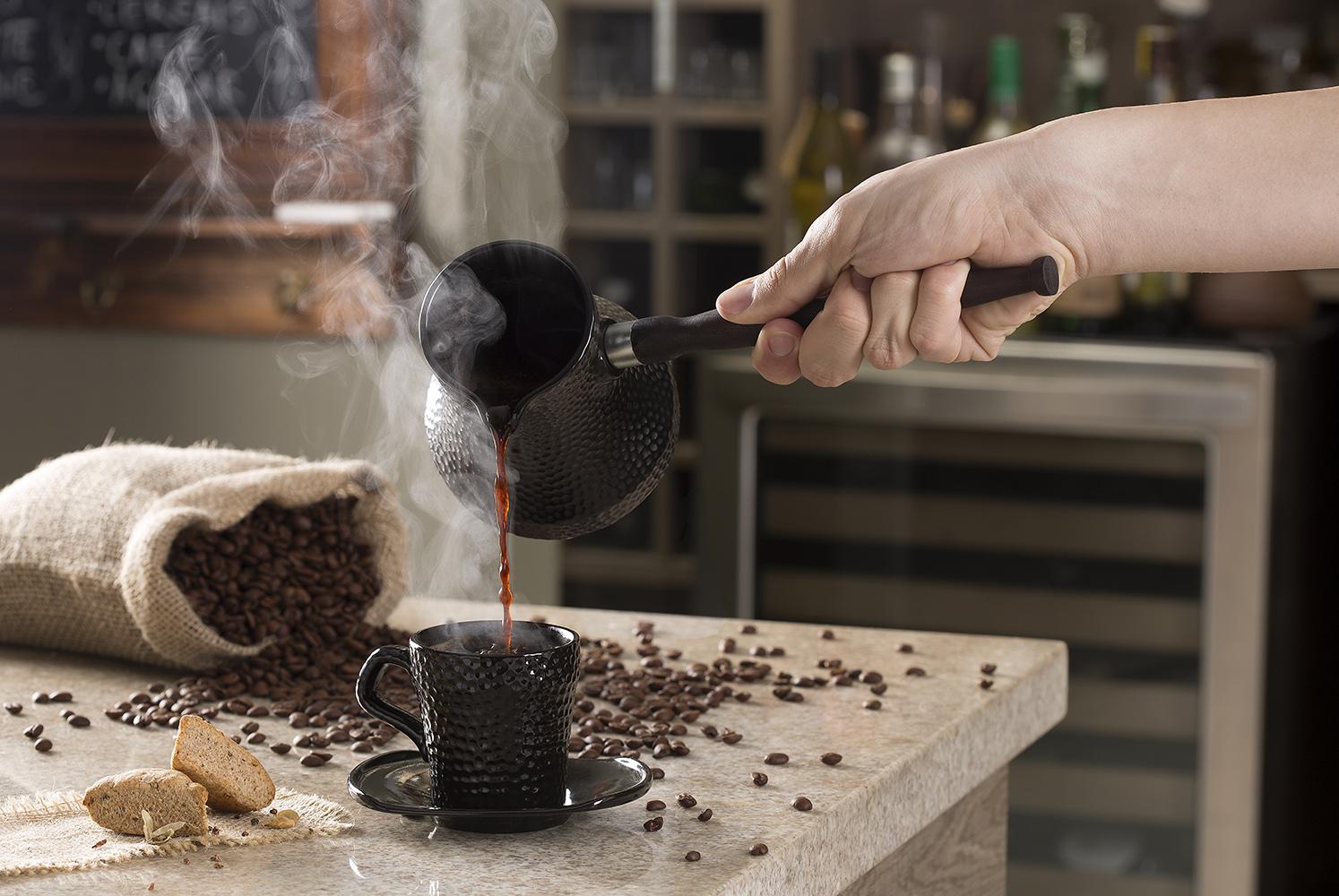 Ibrik (café turco) Martelado