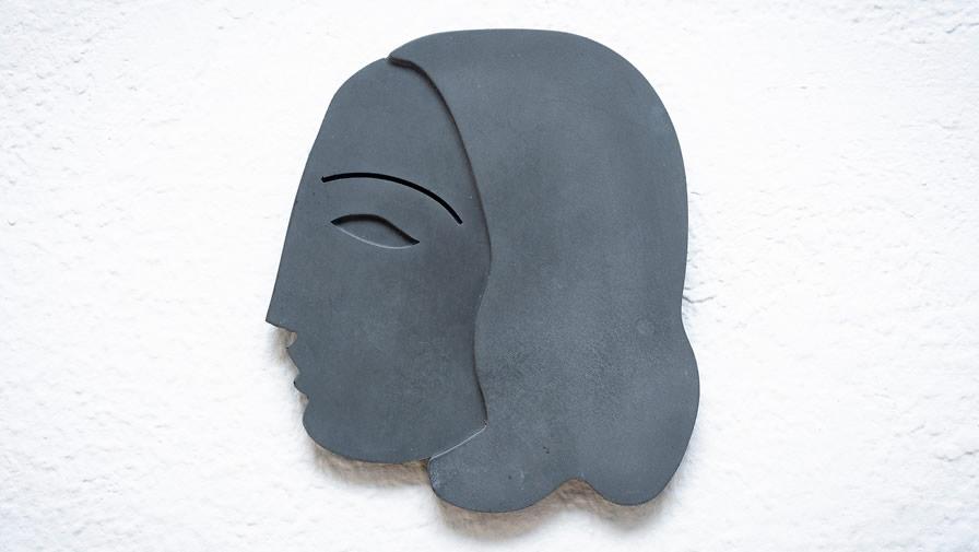 Máscara Mulher Cinza Escuro (disponível em 6 cores)