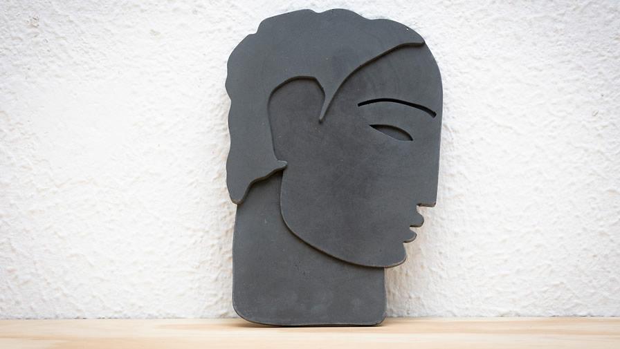 Máscara Homem Cinza Escuro (disponível em 6 cores)