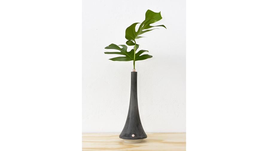 Vaso Oscar 1 Cinza Escuro (disponível em 6 cores)