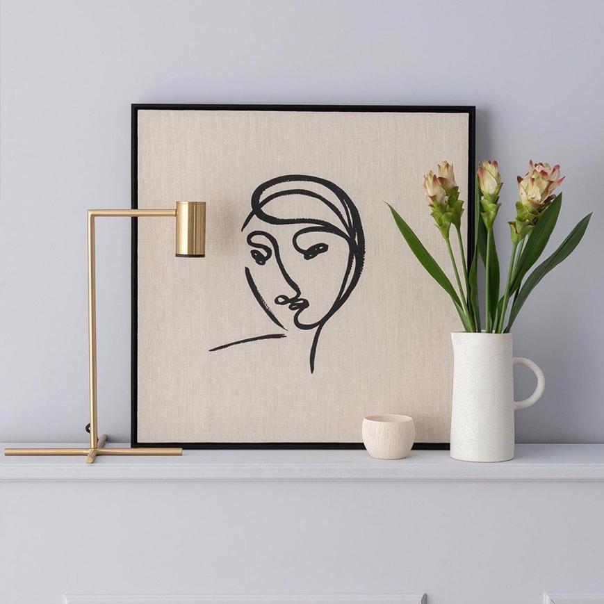 Quadro Portrait N1 - casa da Valentina