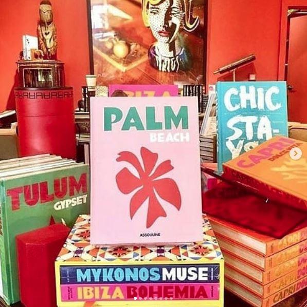 Livros: Palm Beach, Tulum Gypset, Chic Stays, Mykonos Muse e Ibiza Bohemia.