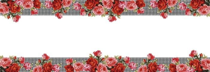 Caminho de mesa Coleção Rosas