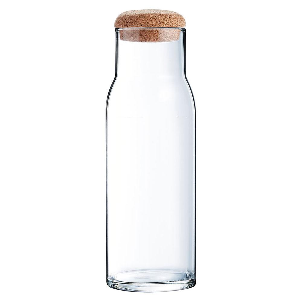 Foto still da garrafa transparente