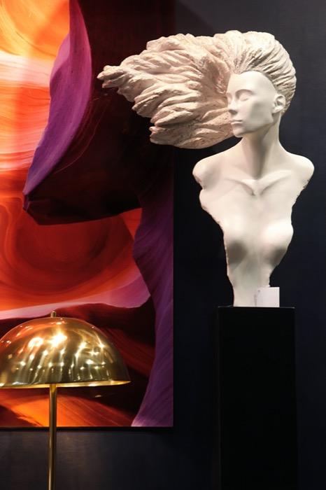 Escultura Cabelo ao Vento 2