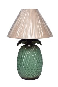 TH4131-V Abajur Abacaxi Verde R$179,90