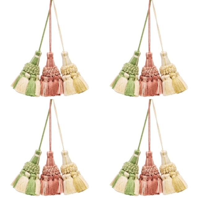 Pingentes decorativos / key tassels