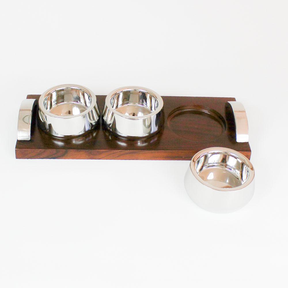 Petisqueira Ranchi com 3 bowls 2