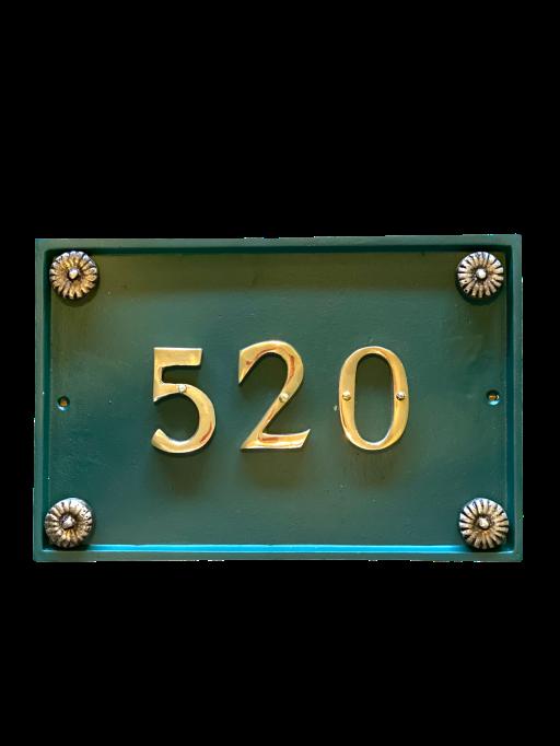 Numeração para residencia