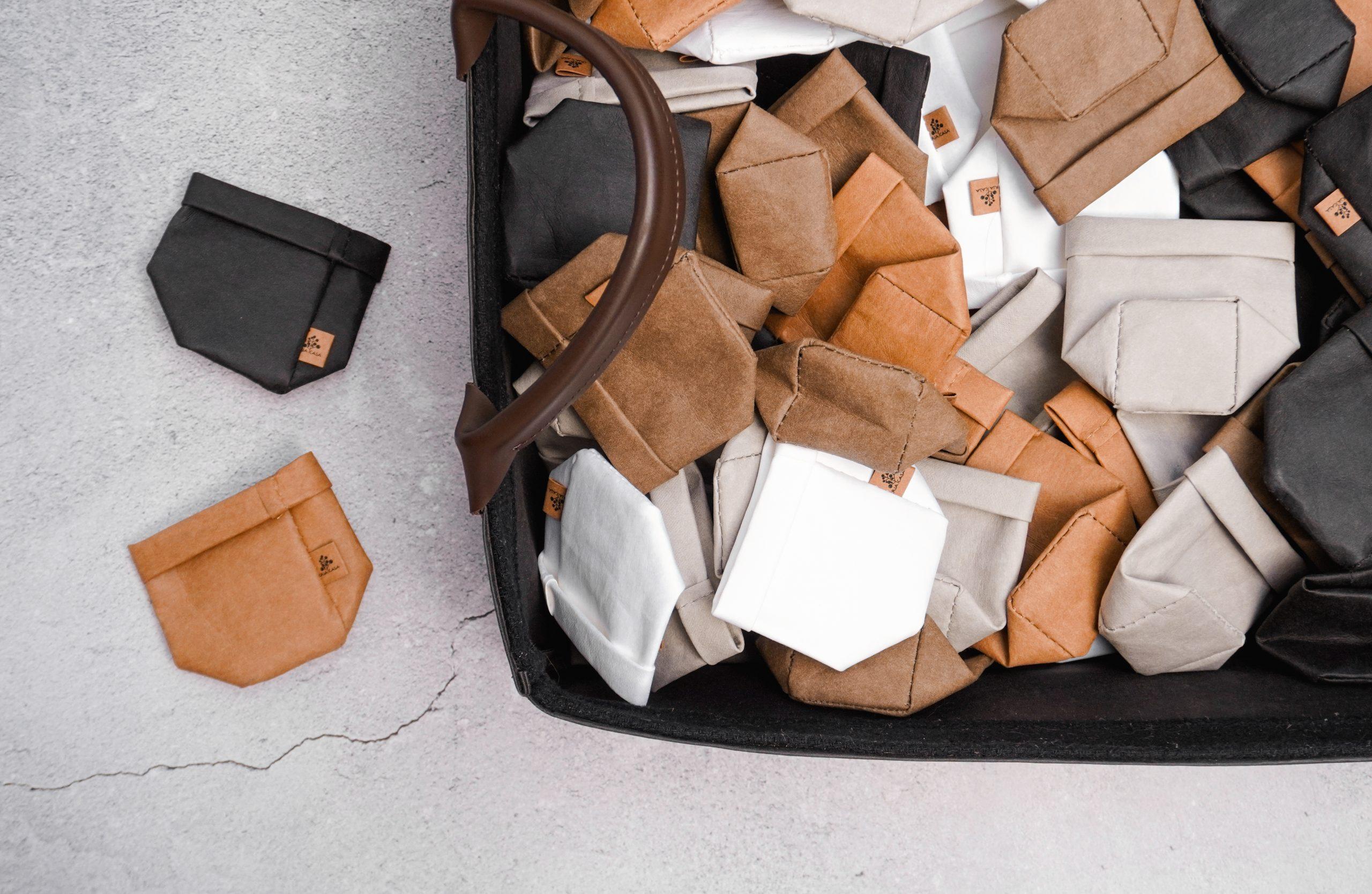Bags de papel lavável, tamanho PP